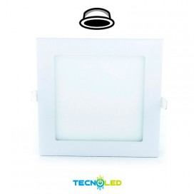 Downlight Led Empotrable Cuadrado 230V 12W