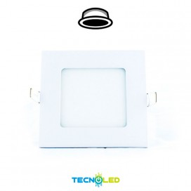 Downlight Led Empotrable Cuadrado 230V 6W