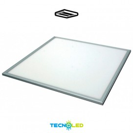 Panel Led Empotrable 60X60 48W Smd Marco En Plata