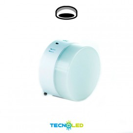 Plafon Downlight Led Superficie Diseño Redondo 230V 6W
