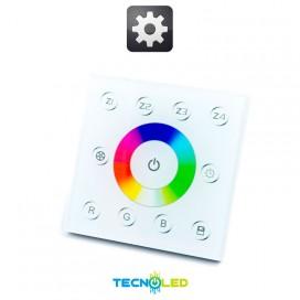 Mando Cambio Color Y Control Dimmer 4 Zonas 1 Memoria