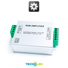 Amplificador 12A 3Ch 12-24V (Para Rgb Y Dimmer)