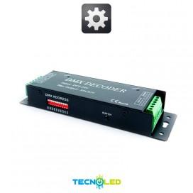 Controlador Dmx 3 Canales 5A/Ch Dc 5-24V Dc