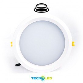 Downlight Led Empotrable Redondo 18W 24H