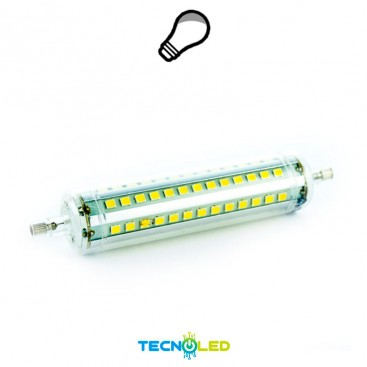 LAMPARA LINEAL 9W R7 LED 118MM LUZ NEUTRA