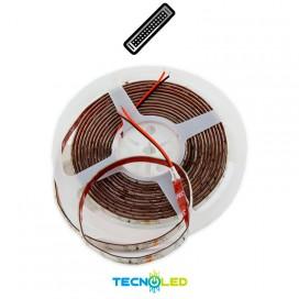 Tira De Led 2835 24W 24V 60 Led/M 5M Ip65 Rojo