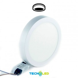 Plafon Downlight Led Superficie Redondo 230V 18W
