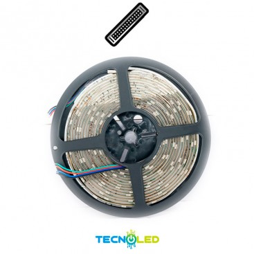 TIRA DE LED RGB 36W 24V 30 LED/M 5M IP65