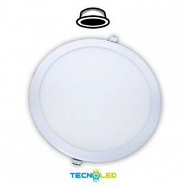 DOWNLIGHT LED EMPOTRABLE REDONDO 230V 28W BLANCO