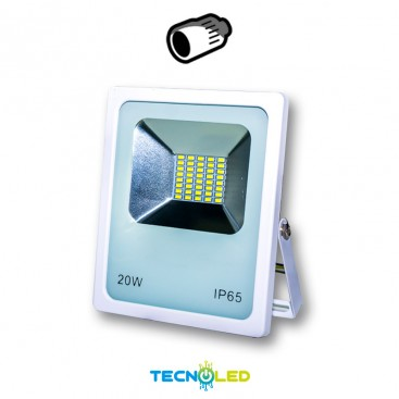 FOCO | PROYECTOR LED SMD 12/24VDC 20W 120º BLANCO
