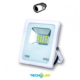 Foco Proyector Led Smd 12/24Vdc 10W 120º Blanco 6000K