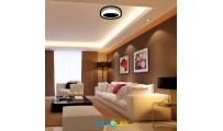DOWNLIGHT SUPERFICIE REDONDO LED 230V 18W