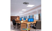 PANEL LED EMPOTRAR 60X60 48W SMD MARCO EN PLATA