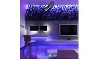 TIRA DE LED RGB 5050 72W 24V 60 LED/M 5M IP67
