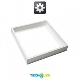 Marco Superficie 60X60 Aluminio Blanco