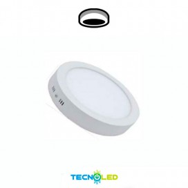 Plafón Downlight Led Superficie Redondo 230V 18w Ecomax