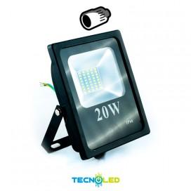 Foco Proyector Led Smd Serie Hogar 230V 20W 120º