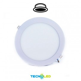 Downlight Led Empotrable Redondo 230V 18W Blanco
